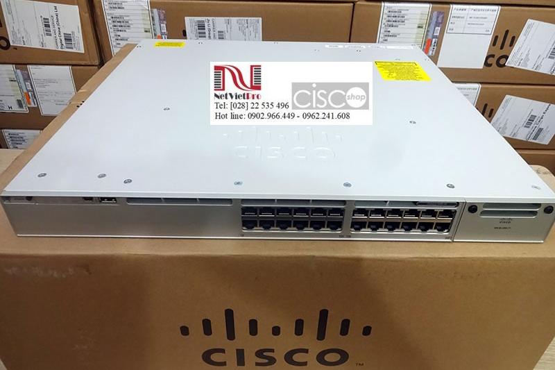 Thiết bị chuyển mạch Switch C9300-24T-A nhập khẩu