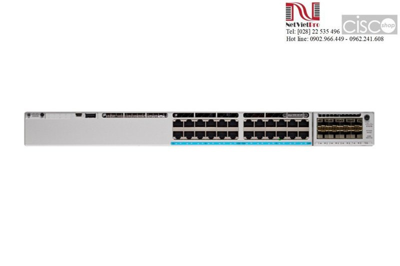 Thiết bị chuyển mạch Switch Cisco C9300-24U-E nhập khẩu
