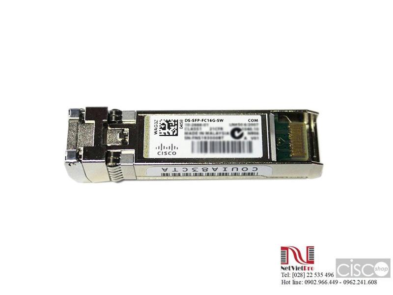 Cisco DS-SFP-FC16G-SW 16 Gbps Fibre Channel SW SFP+, LC