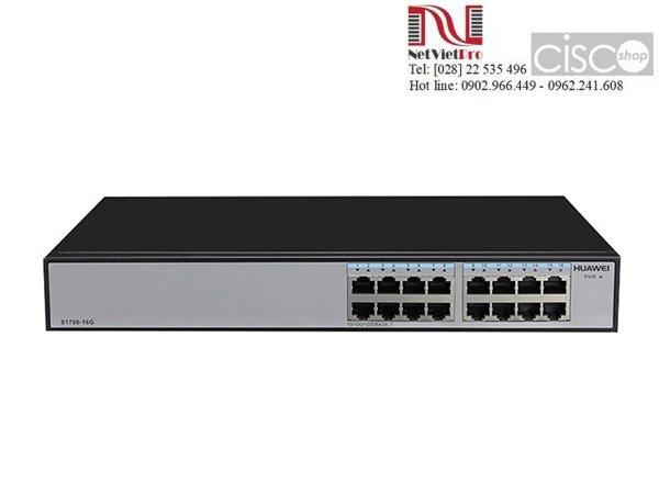 Switch Huawei S1700-16G Ethernet 10/100/1000 ports AC 110/220V
