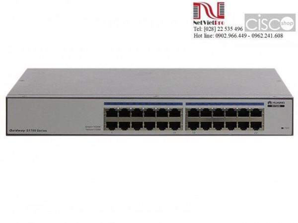 Switch Huawei S1724G 24 10/100/1000Base-T and AC 110/220V