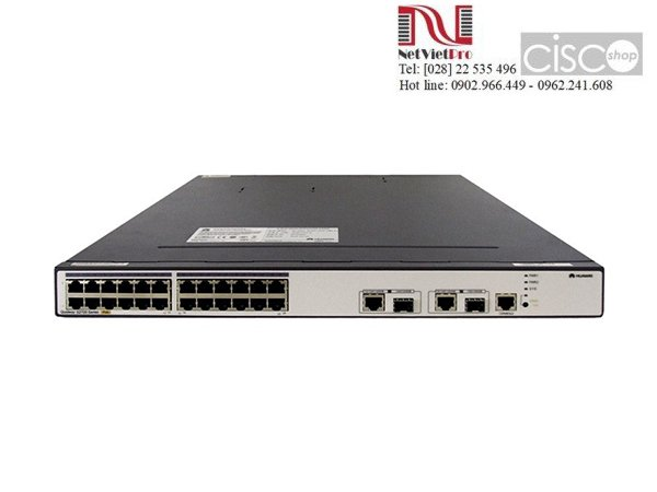 Switch Huawei S2700-26TP-PWR-EI 24 Ethernet 10/100 ports, 2 dual-purpose