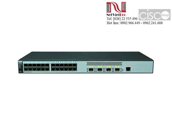 Switch Huawei S5720S-28P-LI-AC 24 Ethernet 10/100/1000 ports, 4 Gig SFP