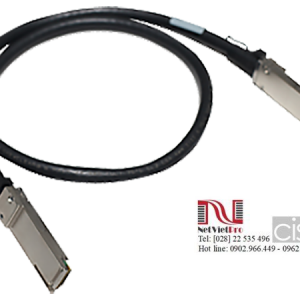 HPE X242 40G QSFP+ to QSFP+ 1m DAC Cable (JH234A)