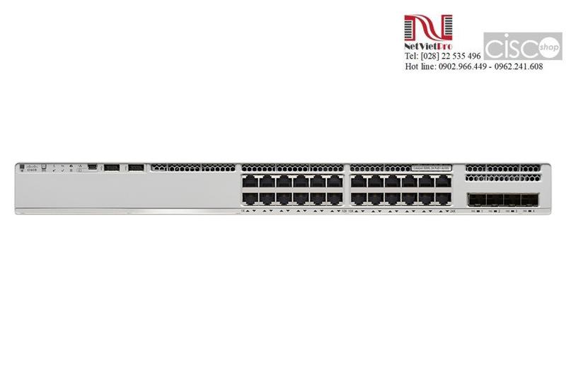 Switch Cisco C9200-24P-E Catalyst Port 10/100/1000 PoE+