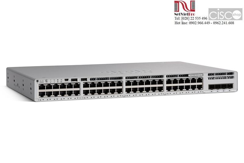 Switch Cisco C9200L-48P-4X-A Catalyst PoE+ 4x10G uplink