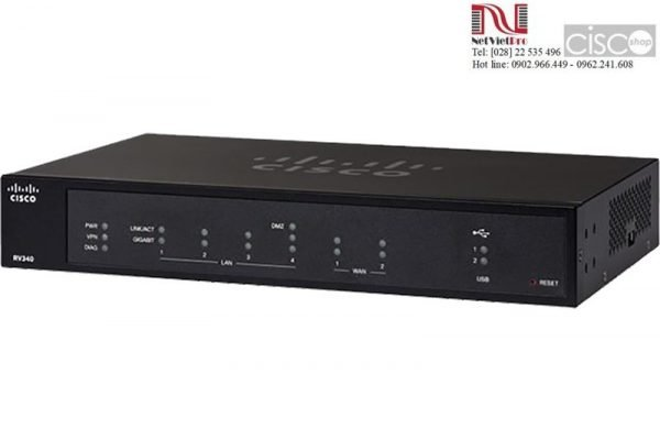 Router Cisco RV340-K9-G5 Dual WAN Gigabit VPN