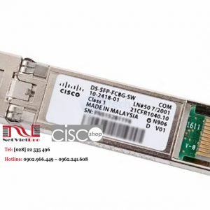 Module Quang Cisco DS-SFP-FC8G-SW