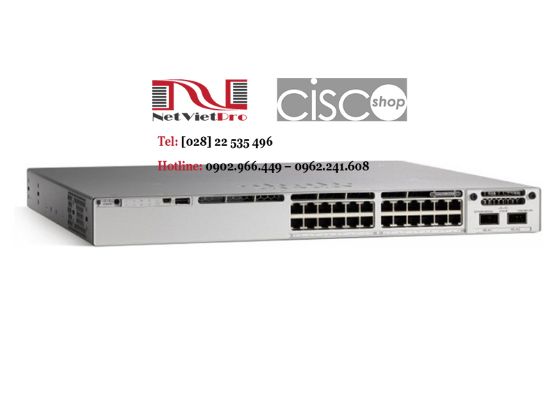 Switch Cisco Catalyst C9300-24S-E 24 Ports 1G SFP