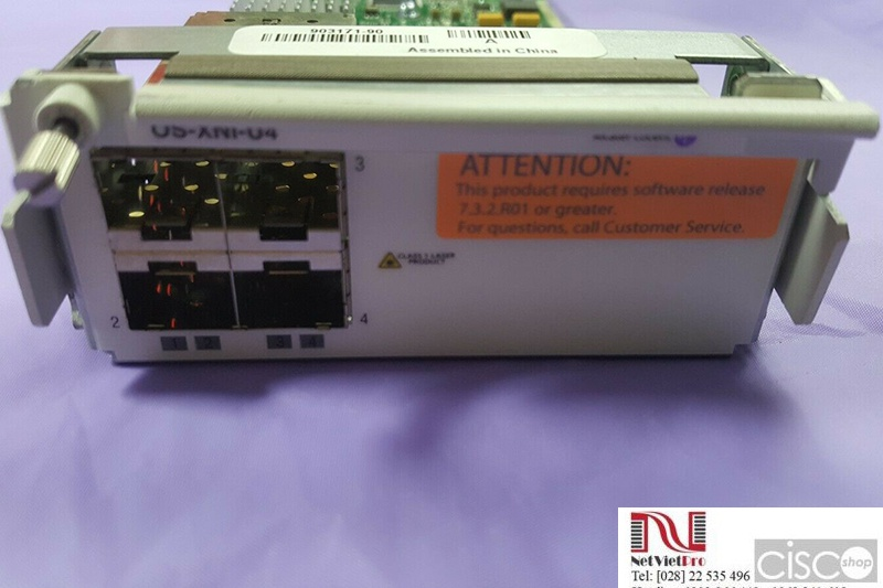 Alcatel-Lucent Interface Card OS-XNI-U4