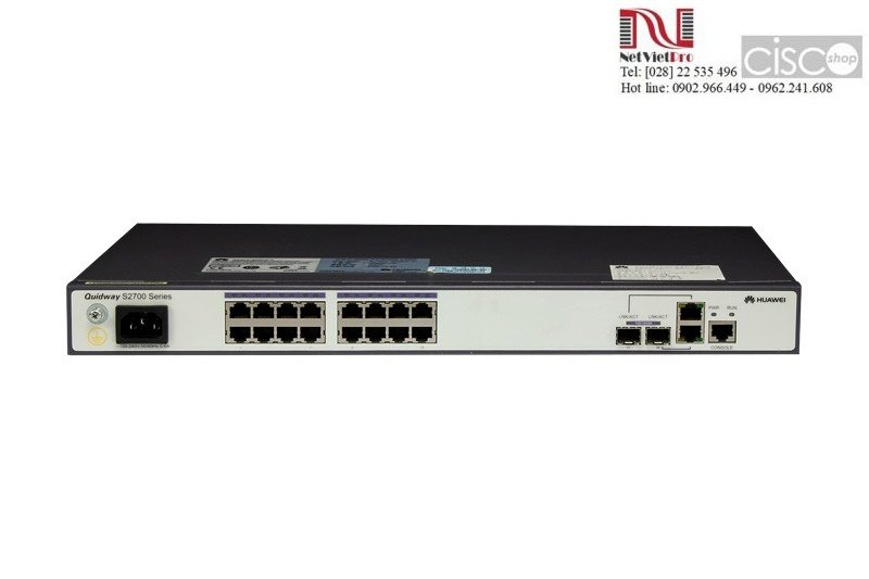 Huawei Switches Series S2700-18TP-SI-AC
