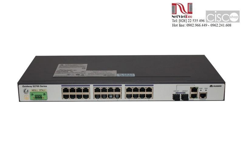 Huawei Switches Series S2700-26TP-EI-DC