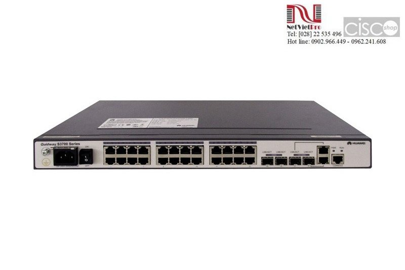 Huawei Switches Series S3700-28TP-SI-DC