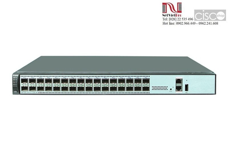Huawei Switches Series S6720-32X-SI-32S-AC